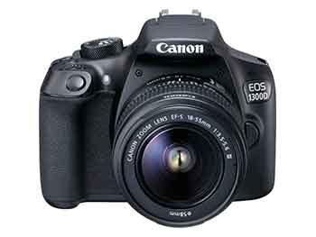Canon EOS 1300D con Objetivo 18-55mm III