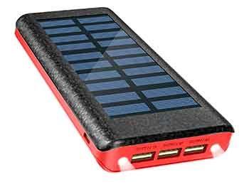 Batería externa solar de 24.000 mAh – OLEBR