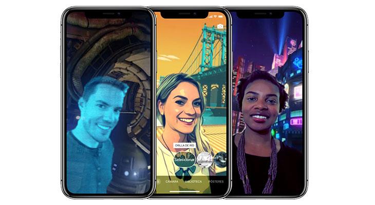 Clips se actualiza con Escenas Selfie de 360 grados para el iPhone X