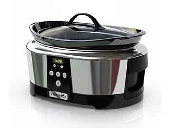 Crock-Pot SCCPBPP605 – Olla de cocción lenta digital de 5,7 l