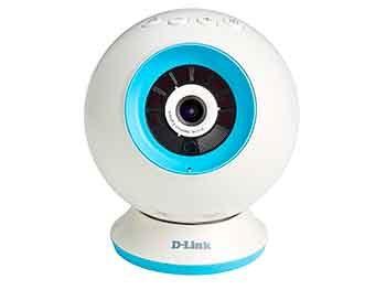 Cámara WiFi de vigilancia para bebé (D-Link DCS-825L)