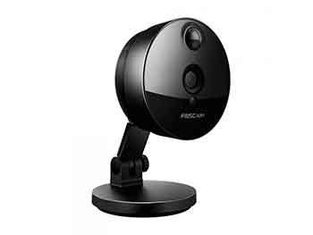 Foscam C1 – Cámara IP de vigilancia de interior, 1.0 MP, función P2P, 720p