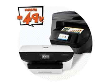 Hasta 49% Descuento en Impresoras y Multifunción HP