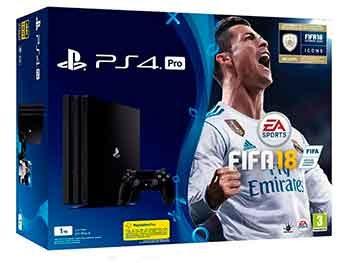 PlayStation 4 Pro 1TB + FIFA 18 + PS Plus 14 días