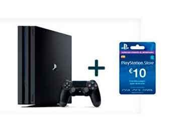 PlayStation Pro 1TB + Tarjeta PS Store 10€