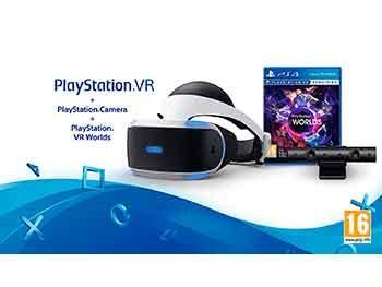PlayStation VR + PS Cámara + VR Worlds