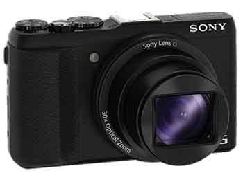 Cámara – Sony Cyber-Shot DCS-HX60B, Negra, 20 Mp, Full HD, Wifi
