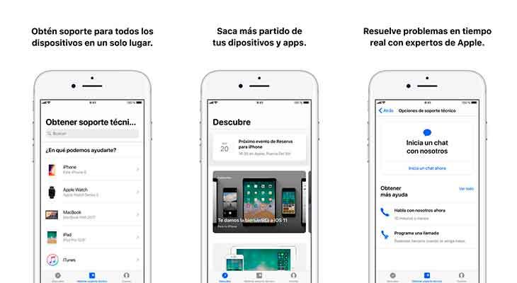"""Apple rediseña la app Soporte Apple añadiendo una nueva sección """"Descubre"""""""