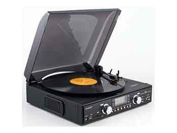 Tocadiscos Digital Sunstech PXR2 Conversor a MP3