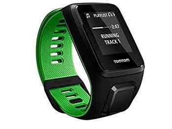 TomTom RUNNER 3 Cardio+Music – Reloj deportivo Negro/Verde