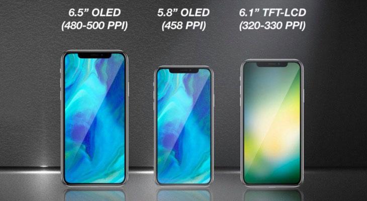 Así serán los iPhones que Apple lanzará en 2018