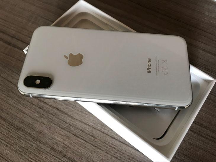 iPhone-X blanco