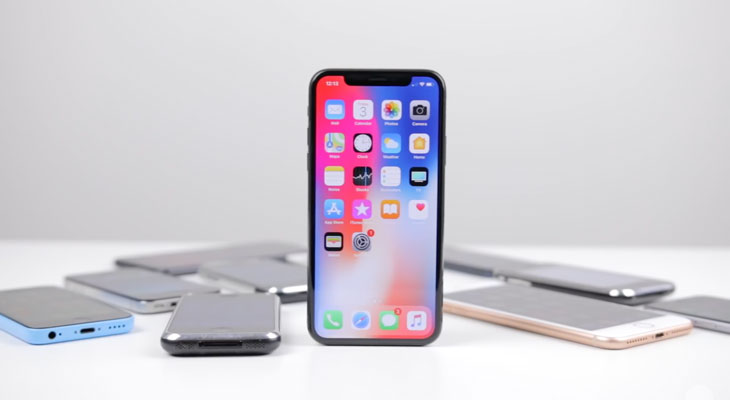 Así ha evolucionado el diseño del iPhone hasta llegar al iPhone X [Vídeo]