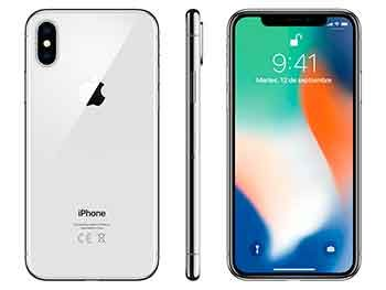 iPhone X 64GB (Plata)