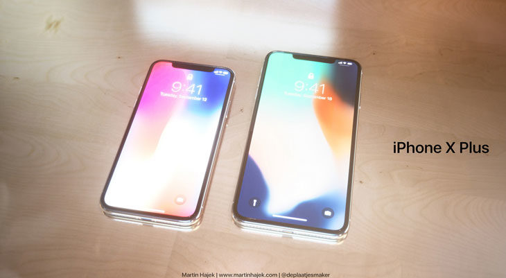 Así sería un iPhone X Plus de 6,7 pulgadas [Fotos]