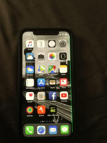 iPhone-X-linea-verde