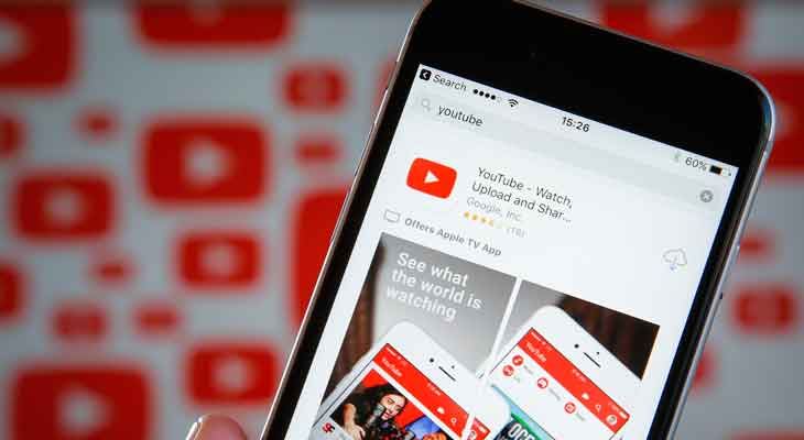 La última actualización de YouTube soluciona el problema de la batería del iPhone