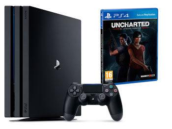 PlayStation 4 Pro 1TB (PS4) + Uncharted: El Legado Perdido