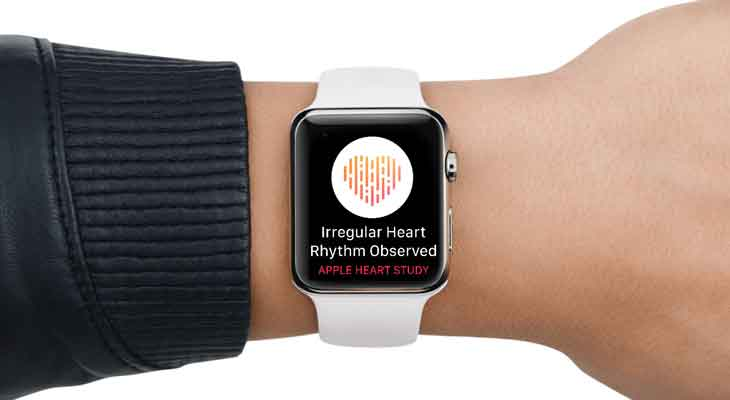 Apple lanza Apple Heart Study, una app que ayuda a identificar arritmias con el Apple Watch