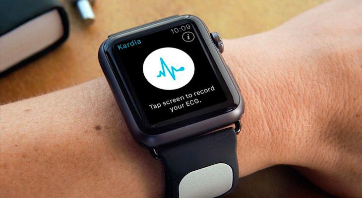 Los futuros Apple Watch podrían ser capaces de hacernos un electrocardiograma