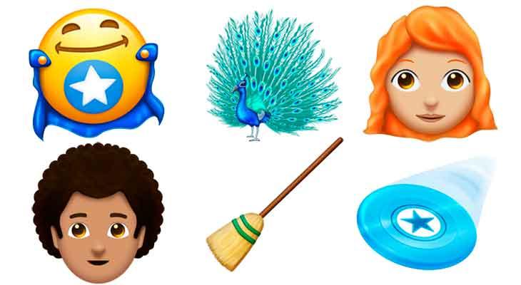 Estos son los emojis que podríamos ver en iOS 12