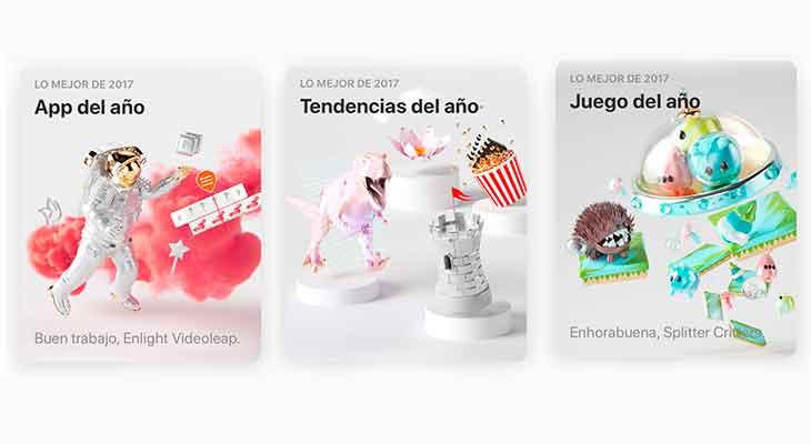 Apple anuncia las mejores aplicaciones y juegos del año en la App Store