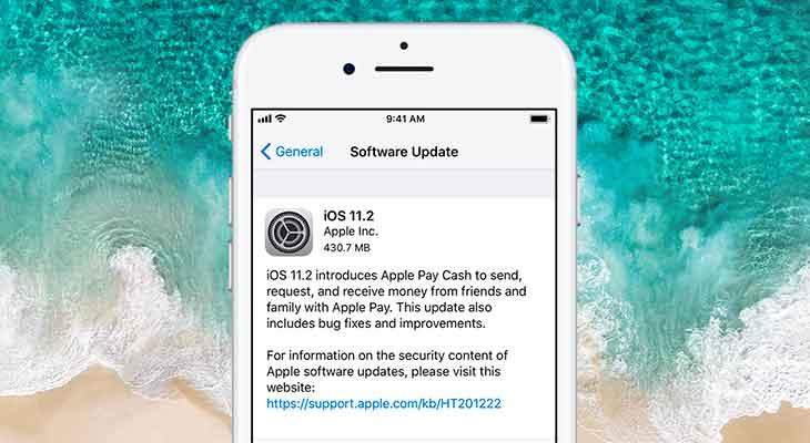 La versión final de iOS 11.2 ya disponible para descargar