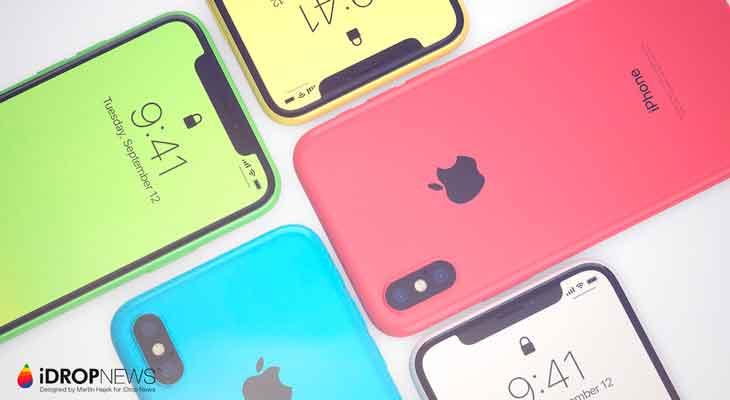 Así sería un iPhone Xc, con las características del iPhone X pero mucho más barato [Concepto]