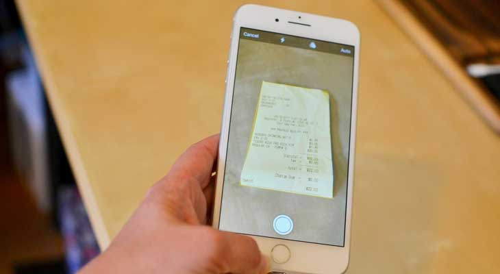 Cómo escanear documentos con tu iPhone