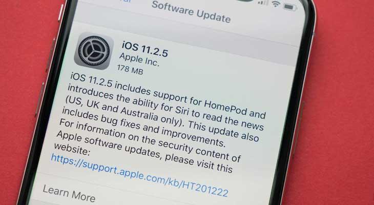 iOS 11.2.5 disponible para descargar, estas son las razones para actualizar