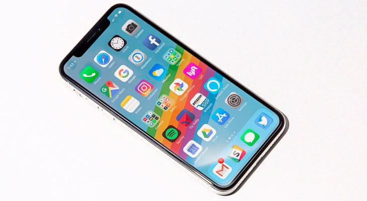 """La pantalla del iPhone X tarda mucho más en mostrar signos de """"efecto quemado"""" que el Galaxy Note 8"""