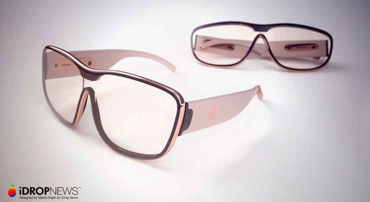 Así podrían ser las Gafas de Realidad Aumentada de Apple [Concepto]