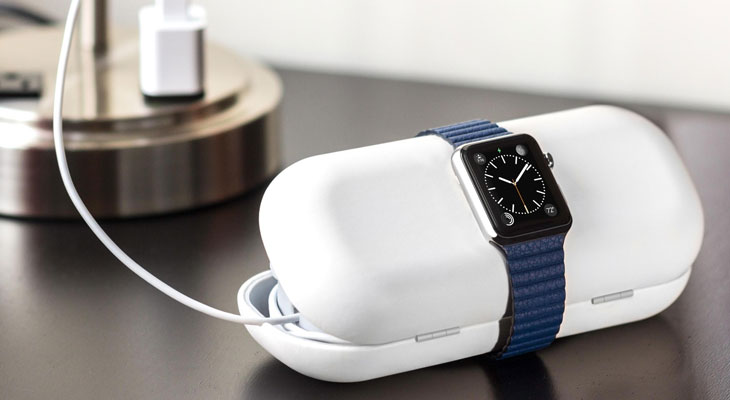 Apple patenta un estuche cargador para el Apple Watch similar al de los AirPods