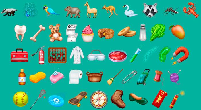 Emojis Unicode 11.0