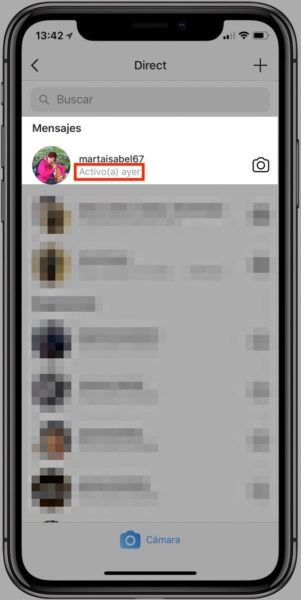 Quitar última conexión a instagram