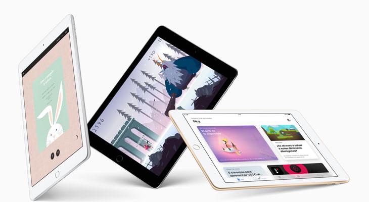Apple podría lanzar dos nuevos iPads en marzo