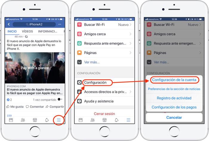 Facebook-Configuración-Cuenta