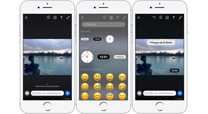 WhatsApp se actualiza con nuevos stickers de ubicación y tiempo
