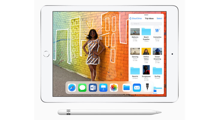 Apple lanza un nuevo iPad más barato con soporte para Apple Pencil