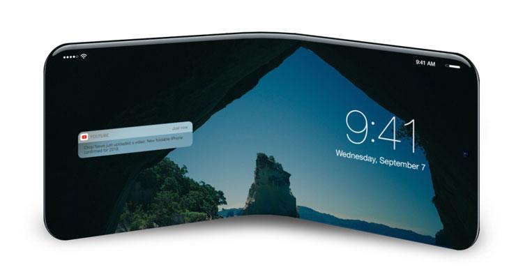 Resurgen los rumores de que Apple podría lanzar un iPhone plegable en 2020