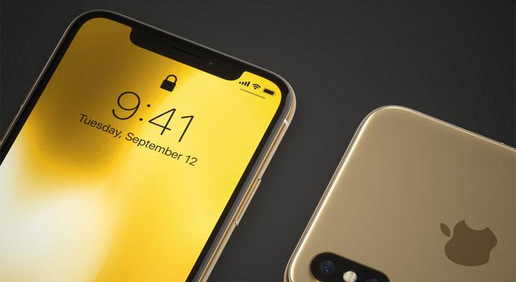 Estos dos conceptos imaginan cómo sería un iPhone X en color oro