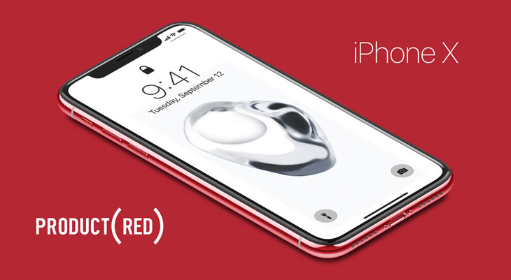 Así sería un iPhone X (PRODUCT)RED [Vídeo]