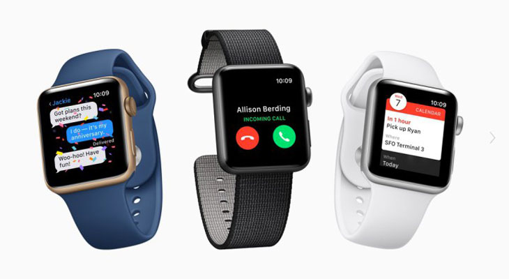 Apple reparará gratis ciertos Apple Watch Series 2 de 42 mm con baterías defectuosas