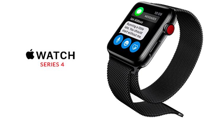 Así podría ser un Apple Watch Series 4 con una pantalla más grande