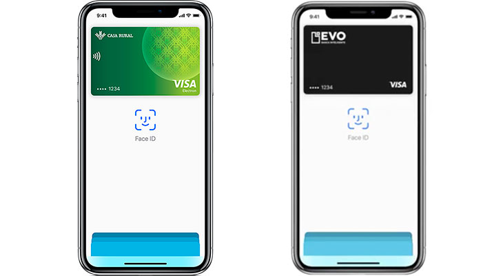 Caja Rural y EVO ya son compatibles con Apple Pay