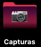 Guardar capturas pantalla Mac