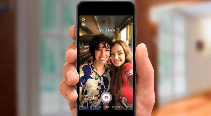 """Enfoque: Así es el nuevo """"modo retrato"""" de Instagram"""