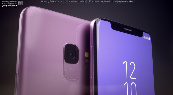 Samsung patenta un smartphone sospechosamente parecido al iPhone X