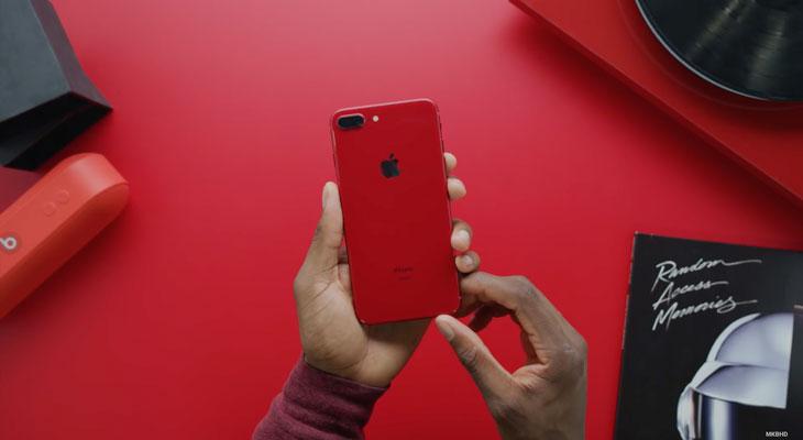 """Llega el primer """"unboxing"""" del iPhone 8 Plus rojo [Vídeo]"""