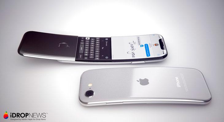 Nuevo concepto imagina cómo podría ser un iPhone curvado